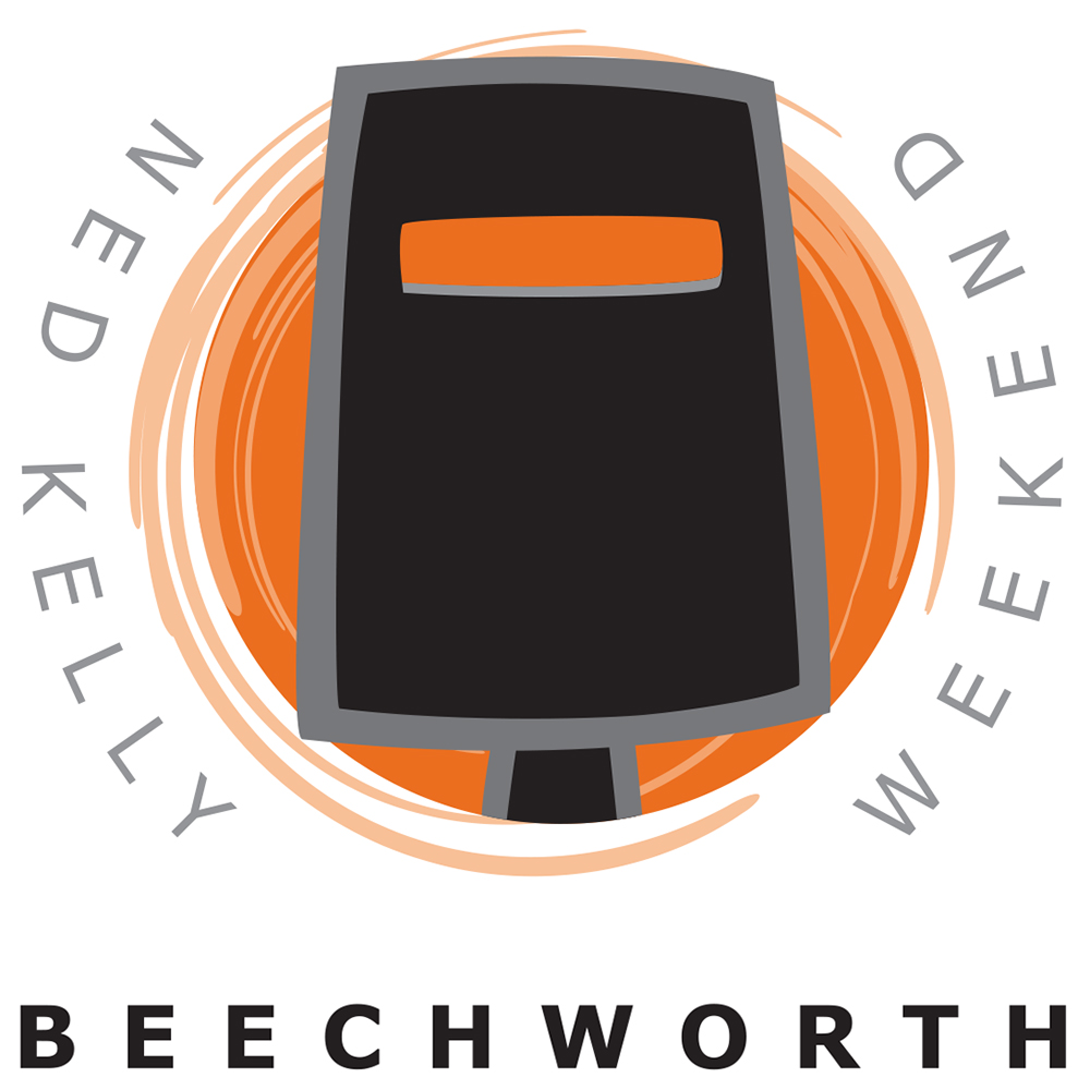 ned kelly n iron outlaw events beechworth kelly logo the annual beechworth ned kelly