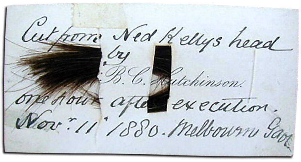 Ned Kelly Hair