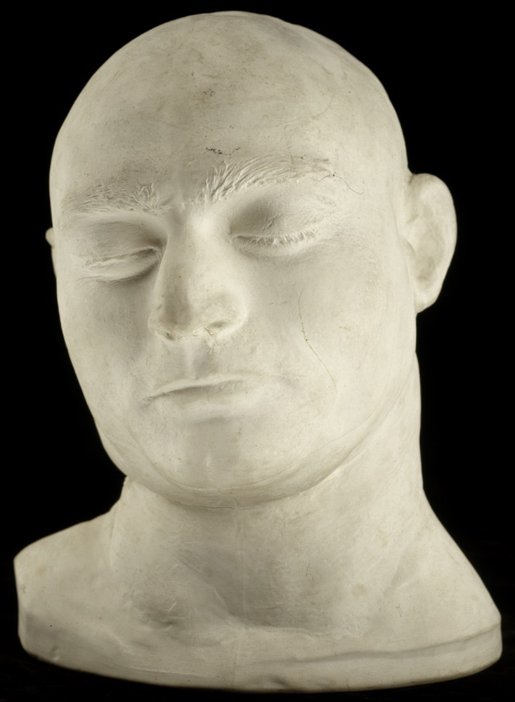 State-Library-Death-Mask