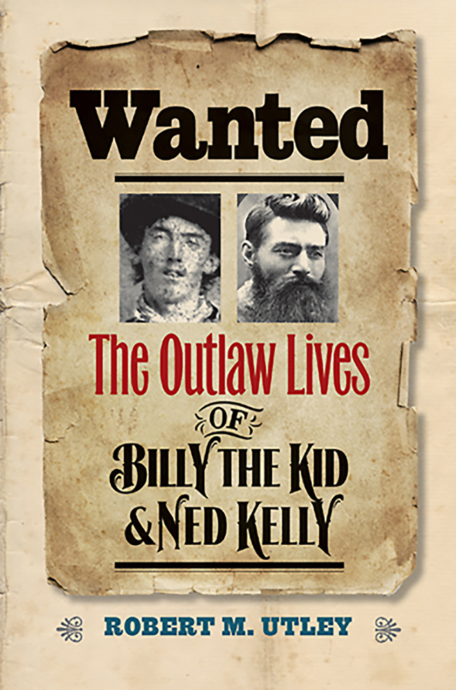 Ned Kelly Wanted Repro POSTER