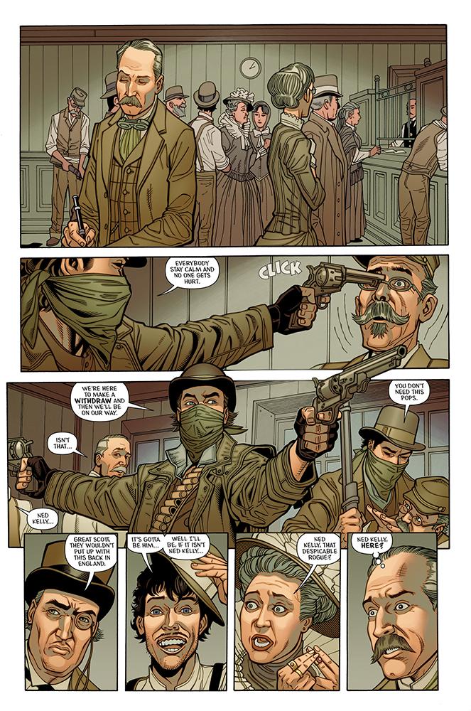 Ned Kelly Australian Iron Outlaw Cartoons And Comics